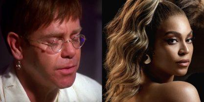 """Elton e """"O Rei Leão"""""""