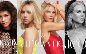 Zendaya, Scarlett Johansson, Gwyneth Paltrow, Nicole Kidman e mais estampam capa da Elle!
