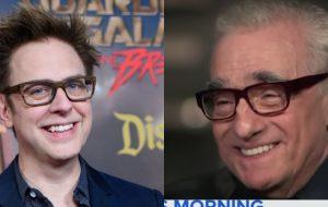 """James Gunn responde críticas de Scorsese sobre a Marvel: """"Estou entristecido"""""""