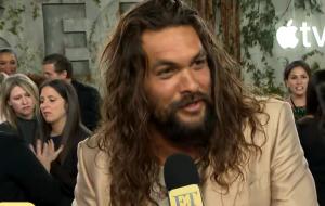"""Jason Momoa diz que a sequência de """"Aquaman"""" será """"muito maior"""""""