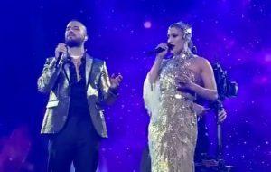 """Maluma canta ao lado de Jennifer Lopez a clássica """"No Me Ames"""" <3"""