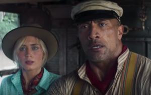 """Emily Blunt e Dwayne Johnson embarcam em uma aventura no trailer de """"Jungle Cruise"""""""