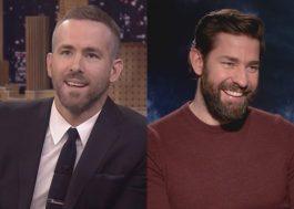 """Ryan Reynolds e John Krasinski trabalharão juntos na comédia """"Imaginary Friends"""""""