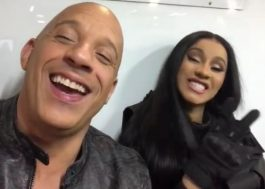 """Vin Diesel revela participação de Cardi B em """"Velozes e Furiosos 9"""""""