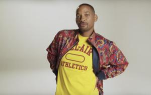 """Will Smith lança marca de roupas inspirada em visual de """"Um Maluco no Pedaço""""!"""