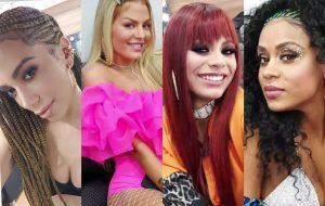 Anitta mostra bastidores de clipe com Luísa Sonza, Lexa e MC Rebecca pelo Instagram
