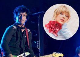 """Rumor: Billie Joe Armstrong pode cantar """"Bad Blood"""" da Taylor Swift no AMA 2019"""