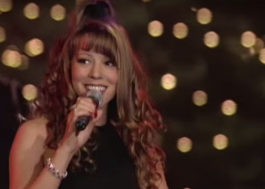 "Mariah Carey divulga 1ª apresentação de ""All I Want For Christmas Is You"""