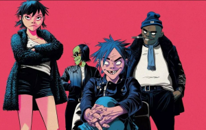 "Gorillaz lançará documentário ""Reject False Icons"" nos cinemas!"