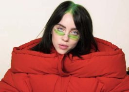 "Billie Eilish revela capa artística de ""everything i wanted"", seu novo single"