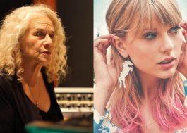 Carole King irá entregar o prêmio de Artista da Década para Taylor Swift no AMA!