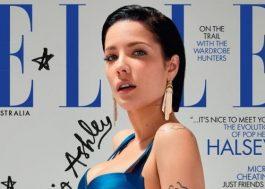 Capa da Elle, Halsey fala sobre a cultura do cancelamento e se deixaria de ser cantora