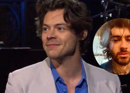 """Harry Styles faz zoeira com Zayn no SNL e fãs reagem: """"Não é engraçado"""""""