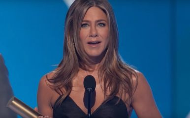 Jennifer Aniston aclamada <3