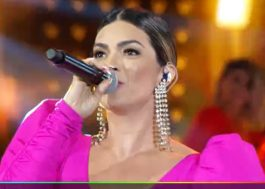 "Kelly Key canta a inédita ""Aumenta o Som"" e o hit ""Cachorrinho"" no Faustão!"