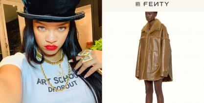Grife de Rihanna cria polêmica