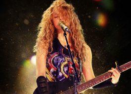 """Shakira libera versões ao vivo das músicas da """"El Dorado World Tour"""""""
