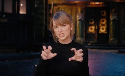 Nova música de Taylor chegando