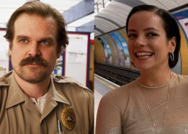 David Harbour desmente os boatos de que estaria noivo de Lily Allen