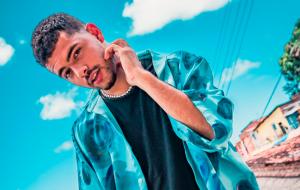 Pedro Sampaio tem uma das três músicas mais ouvidas do país pela primeira vez