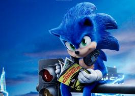 Sonic está todo tranquilo e lendo uma revista em novo pôster do filme