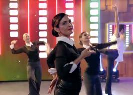 """Fátima Bernardes se joga ao som de """"Vogue"""", da Madonna, no Encontro"""