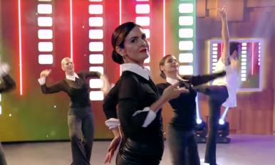 """Fátima dançando """"Vogue""""!"""