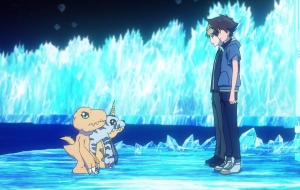 "Tai agora é adulto no trailer de ""Digimon Adventure: Last Evolution Kizuna"""
