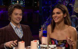 Harry Styles e Kendall Jenner respondem perguntas polêmicas em programa de TV