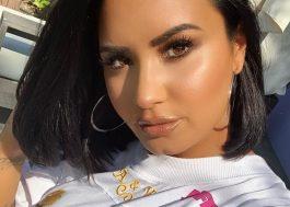 """Demi Lovato diz: """"Da próxima vez que você ouvir falar de mim, eu estarei cantando"""""""