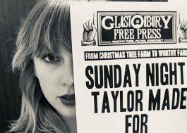 Taylor Swift será uma das headliners do Glastonbury Festival 2020!