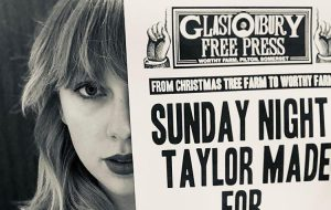 Taylor Swift será uma das headliners do Glastonbury Festival 2020!