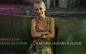 """Maria Bethânia lança nesta sexta (6) """"A Menina dos Meus Olhos"""", álbum em homenagem à Mangueira"""