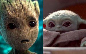 James Gunn afirma que Baby Groot derrotaria Baby Yoda em uma batalha