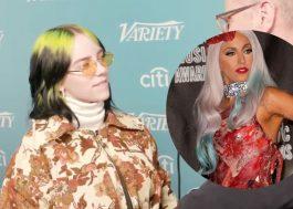 Billie Eilish responde à repercussão de seu comentário sobre o vestido de carne de Gaga