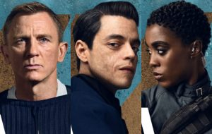 """Novos pôsteres de """"007 – Sem Tempo Para Morrer"""" mostram personagens prontos pra ação"""