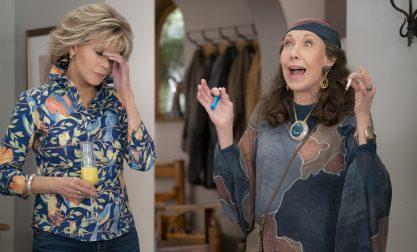 """Imagens da nova temporada de """"Grace & Frankie"""""""