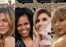 Jennifer Aniston, Michelle Obama, Jennifer Lopez e Taylor Swift estampam capas da People
