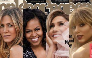 Jennifer Aniston, Michelle Obama, Jennifer Lopez e Taylor Swift estampam capas da People