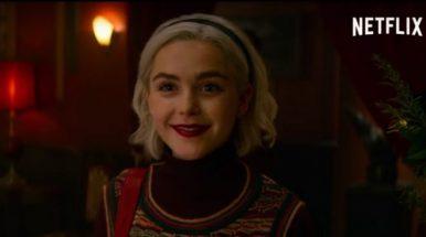 Estreia da 3a temporada de Sabrina!