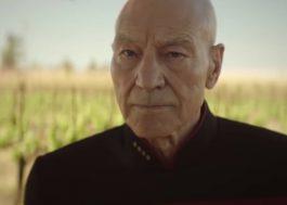 """Patrick Stewart diz que não encorajaria citar o coronavírus em """"Star Trek: Picard"""""""