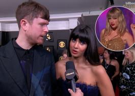 Jameela Jamil e James Blake elogiam Taylor Swift ao falar de desigualdade de gênero na indústria