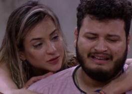 """BBB20: Babu e Thelma comentam roda de louvor feita por brothers: """"Falta de respeito"""""""