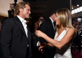 Jennifer Aniston comenta o reencontro com Brad Pitt no SAG Awards