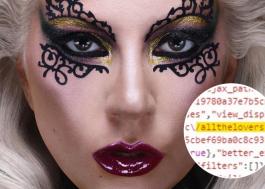 """""""All The Lovers""""? Equipe de Lady Gaga muda novamente código de site oficial da cantora"""
