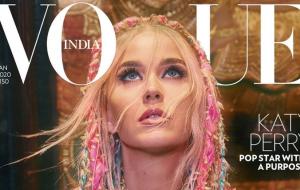 Para a Vogue Índia, Katy Perry fala sobre depressão e a responsabilidade de influenciar pessoas