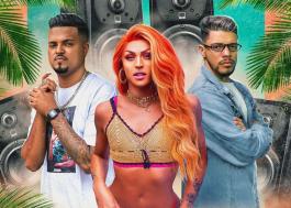 """Pabllo Vittar anuncia remix de """"Amor de Que"""" com Thiaguinho MT e JS o Mão de Ouro"""