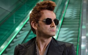 "Neil Gaiman conta como convenceu a Amazon de escalar David Tennant em ""Good Omens"""