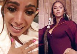 Anitta recebe roupas da coleção de Beyoncé com cartão assinado