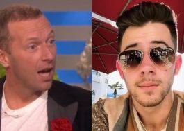 Chris Martin e Nick Jonas revelam que foram ignorados por John Krasinski e ator responde